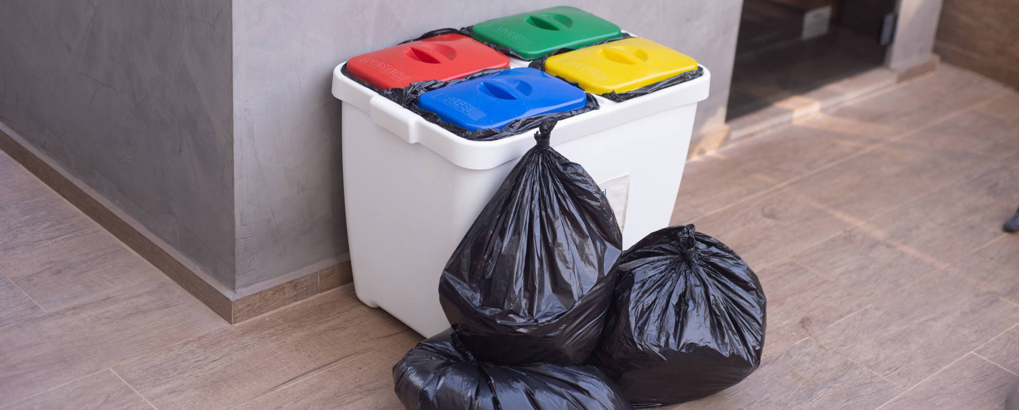 Bolsas para residuos en rollo